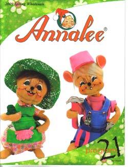 "Annalee 2009 Spring Catalog - 8 1/2"" x 11"" - Ctg-09Sp"