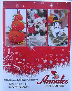 "Annalee 2013 Fall - Winter Catalog - 8 1/2"" x 11""  - Ctg-13"