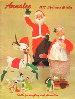 "Annalee 1977 Christmas Catalog - 8 1/2"" x 11"" - Ctg-77CH"