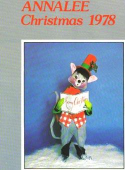 "Annalee 1978 Christmas Catalog - 8 1/2"" x 11"" - Ctg-78CH"