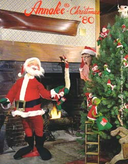 "Annalee 1980 Christmas Catalog - 8 1/2"" x 11"" - Ctg-80CH"