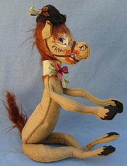 """Annalee 18"""" Kentucky Derby Boy Horse - Good - H77-72a"""