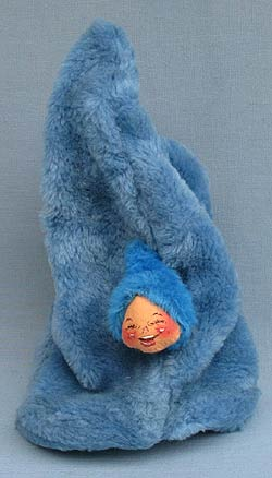 "Annalee 14"" Blue Bang Hat - Near Mint - L53-61"