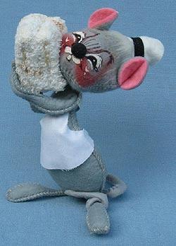 """Annalee 7"""" Nurse Mouse - Excellent - M85-70a"""