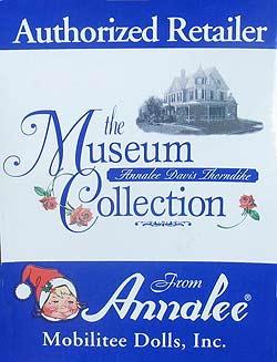 "Annalee Museum Collection Window Sticker 4.5"" x 6""  - MusColl"