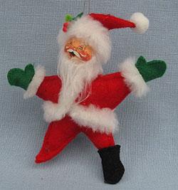 "Annalee 5"" Star Santa Ornament - Prototype - Near Mint"