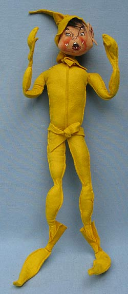 "Annalee 22"" Yellow Woodsprite - Mint - X2-63y"