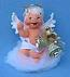 "Annalee 7"" Heavenly Bells Baby Angel - Mint - 711202"
