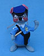 """Annalee 7"""" Policeman Mouse - Mint / Near Mint - M409-78"""
