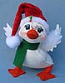 "Annalee 8"" Cozy Christmas Duck - Mint - 751412"