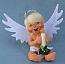 "Annalee 7"" Candlelight Angel 2013 - Mint - 650213"