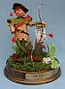 """Annalee 10"""" Robin Hood with Base - Excellent - 960484a"""