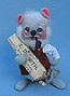 """Annalee 7"""" Retired Grampa Mouse - Mint / Near Mint - 228584"""