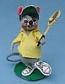 "Annalee 7"" Tennis Boy Mouse - Mint - 231086"