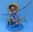"Annalee 7"" Fishing Boy Sitting on Dock - Mint / Near Mint - 234793ooh"