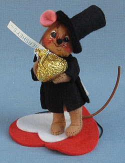 "Annalee 3"" Hershey Boy Mouse - Mint - 033496ox"