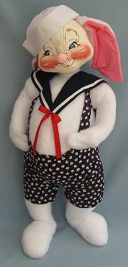 "Annalee 30"" Sailor Bunny - Near Mint - 0082300oxa"