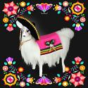 "Annalee 10"" Cinco de Mayo Fiesta Llama - Mint - 851921"