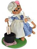 """Annalee 5"""" Colonial Candlemaker Mouse 2021 - Mint - 260321"""