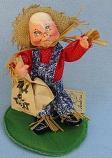 "Annalee 7"" Scarecrow Kid - Excellent - 305892oxa"