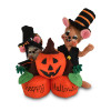 "Annalee 5"" Pumpkin Patch Mice 2018 - Mint - 310618"