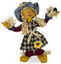 "Annalee 12"" Scarecrow Mom 2021 - Mint - 361921"