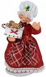 "Annalee 9"" Sugar & Spice Mrs Chef Santa 2020 - Mint - 410920"
