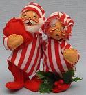 "Annalee 5"" Mr & Mrs Tuckered - Mint - 460083"