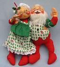 "Annalee 18"" Mr & Mrs Santa - Excellent - 5510-5550-87a"