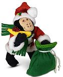 "Annalee 9"" Very Merry Gorilla 2020 - Mint - 760220"