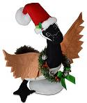 """Annalee 11"""" Christmas Canada Goose 2021 - Mint - 760821"""