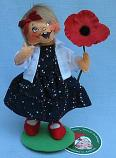 """Annalee 7"""" Remember and Honor Patriotic Girl - Mint - 852021yeah"""