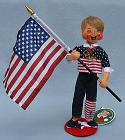 """Annalee 10"""" Summer Olympian with Flag - 2020 - Mint - 852220"""