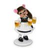 "Annalee 6"" Helga Beer Maid Mouse - Mint - 860021"