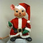 "Annalee 48"" Santa Mouse - Mint - 969607"