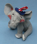 "Annalee 10"" Patriotic Elephant - Mint / Near Mint - D47-68"