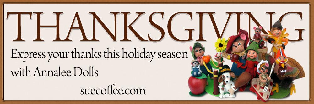 Annalee Thanksgiving Dolls