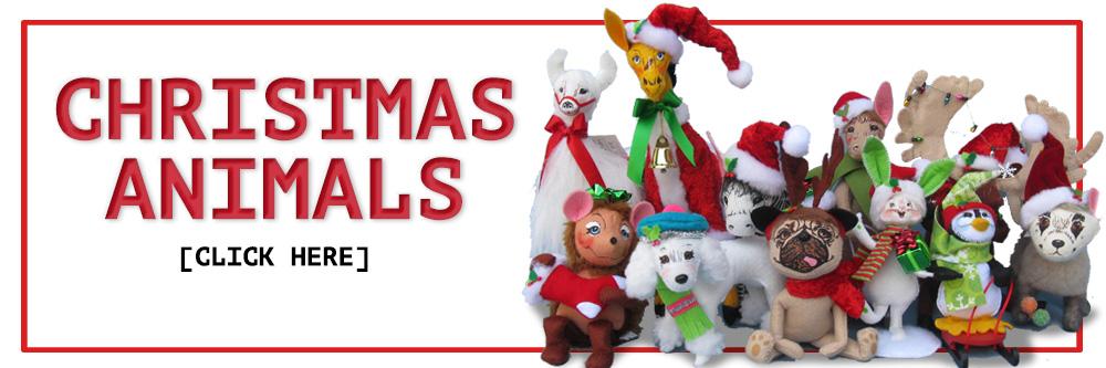Annalee Christmas Animals