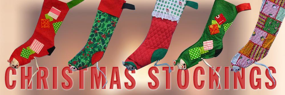 Annalee Christmas Stockings