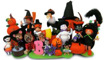 2013 Annalee Halloween Doll