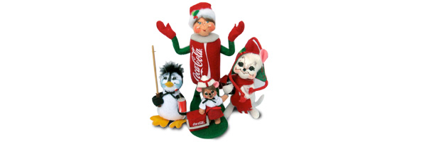 Shop 2013 Annalee Coca Cola & Coke dolls