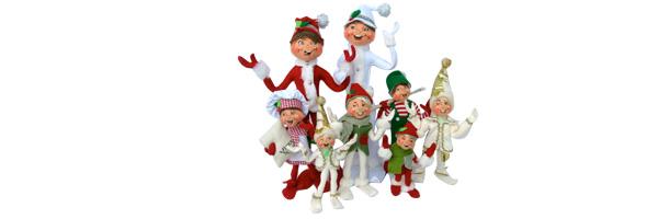 Shop 2013 Annalee Elves and Elf Dolls