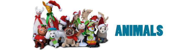 2012 Annalee Mobilitee Doll Animals