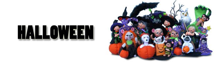 2012 Halloween Annalee Mobilitee Dolls