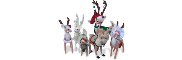 Shop 2013 Annalee Reindeer